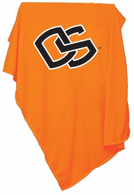 Oregon State Sweatshirt Blanket