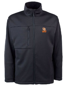 Oregon State Mens Traverse Jacket (Team Color: Black) - X-Large