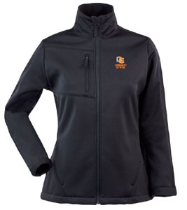 Oregon State Womens Traverse Jacket (Team Color: Black) - X-Large