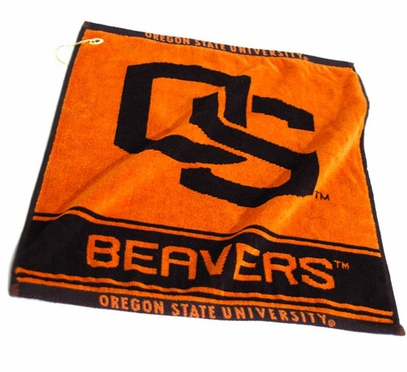 Oregon State Woven Golf Towel