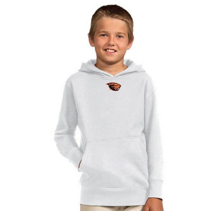 Boys Hoodies and Sweatshirts Boys practically live in hoodies and sweatshirts, and it's easy to see why--they're comfy to wear and easy to throw on over a T-shirt. Keeping his closet stocked with options is a cinch thanks to Amazon's selection of pullovers, zip-ups, crewneck styles, and more.