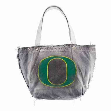 Oregon Vintage Tote (Black)