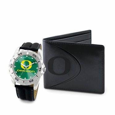 Oregon Watch and Wallet Gift Set
