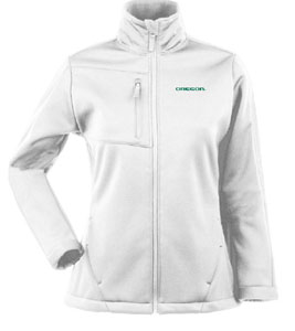 Oregon Womens Traverse Jacket (Color: White) - Large