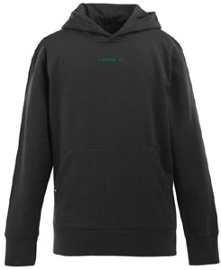 Oregon YOUTH Boys Signature Hooded Sweatshirt (Color: Black) - Large