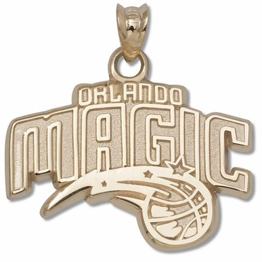 Orlando Magic 10K Gold Pendant