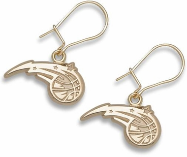 Orlando Magic 10K Gold Post or Dangle Earrings