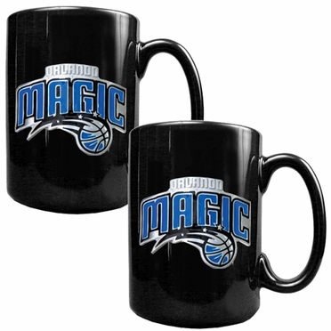 Orlando Magic 2 Piece Coffee Mug Set