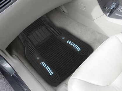 Orlando Magic 2 Piece Heavy Duty DELUXE Vinyl Car Mats