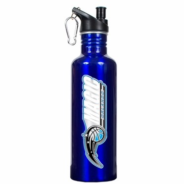 Orlando Magic 26oz Stainless Steel Water Bottle (Team Color)