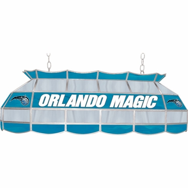 Orlando Magic 40 Inch Rectangular Stained Glass Billiard Light