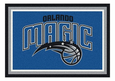 "Orlando Magic 5'4"" x 7'8"" Premium Spirit Rug"
