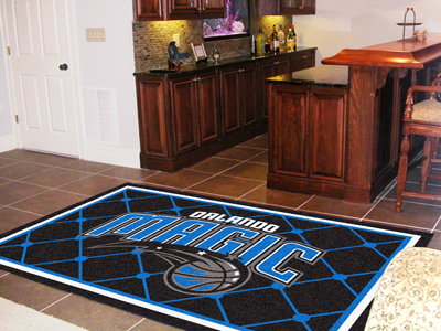Orlando Magic 5 Foot x 8 Foot Rug