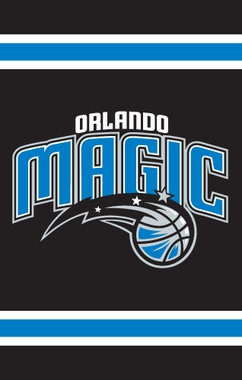 Orlando Magic Applique Banner Flag