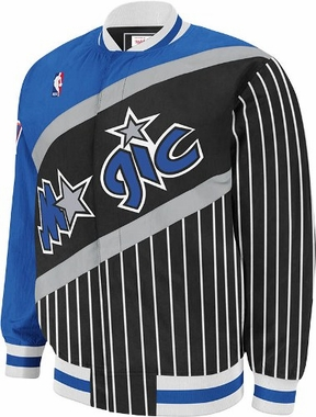 Orlando Magic Authentic 92-93 Warmup Snap Front Jacket