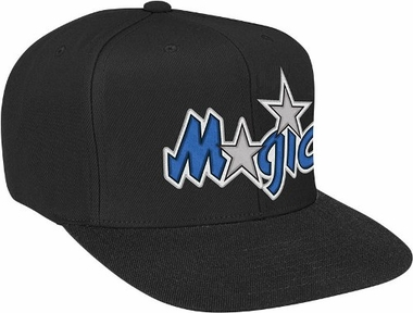 Orlando Magic Basic Logo Snap Back Hat
