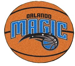 Orlando Magic Basketball Shaped Rug