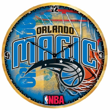 Orlando Magic Big 18 Inch Hi Definition Clock