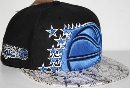 Orlando Magic Black Mamba Snap Back Hat