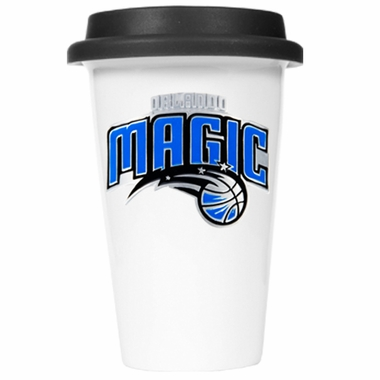 Orlando Magic Ceramic Travel Cup (Black Lid)
