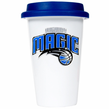 Orlando Magic Ceramic Travel Cup (Team Color Lid)