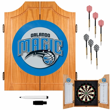 Orlando Magic Complete Dart Cabinet