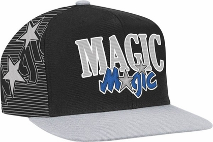 Orlando Magic Double Graphic Laser Stitched Snap Back Hat