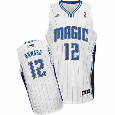 Orlando Magic Dwight Howard White Swingman Replica Jersey