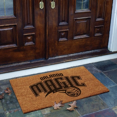 Orlando Magic Flocked Coir Doormat