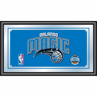Orlando Magic Framed Logo Bar Mirror