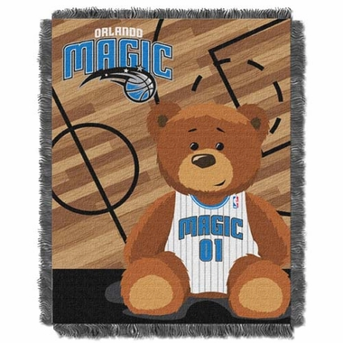 Orlando Magic Jacquard BABY Throw Blanket