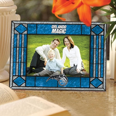 Orlando Magic Landscape Art Glass Picture Frame
