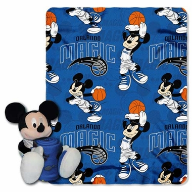 Orlando Magic Mickey Hugger with Small Fleece Throw