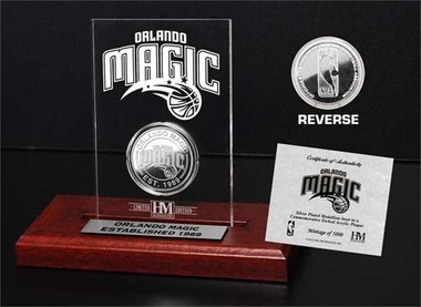 Orlando Magic Orlando Magic 24KT Gold Coin Etched Acrylic
