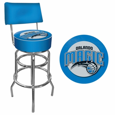Orlando Magic Padded Bar Stool with Back