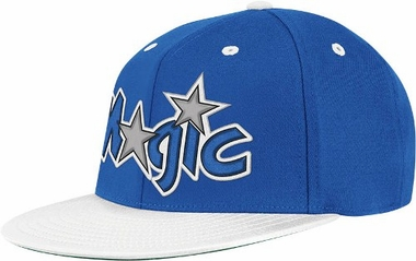 Orlando Magic Retro Flat Bill Flex Hat