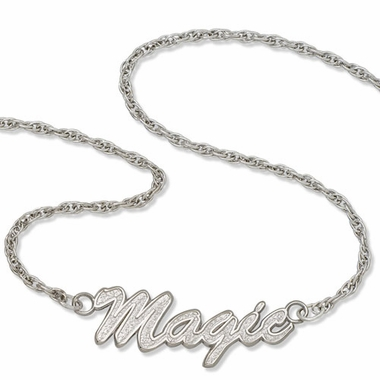 Orlando Magic Script Necklace