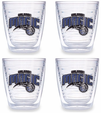 Orlando Magic Set of FOUR 12 oz. Tervis Tumblers