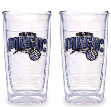 Orlando Magic Set of TWO 16 oz. Tervis Tumblers