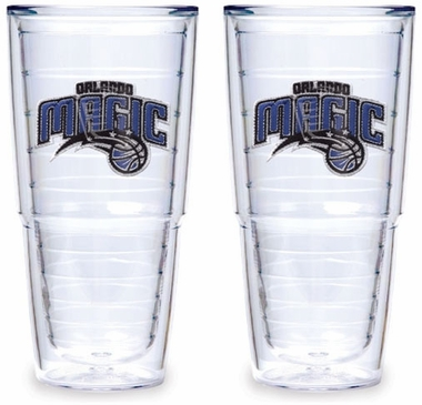 Orlando Magic Set of TWO 24 oz. Tervis Tumblers