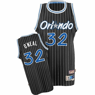 Orlando Magic Shaquille O'Neal Team Color Throwback Replica Premiere Jersey