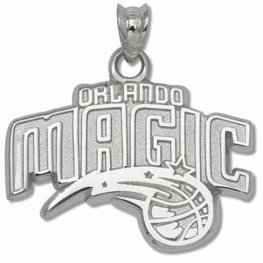 Orlando Magic Sterling Silver Pendant