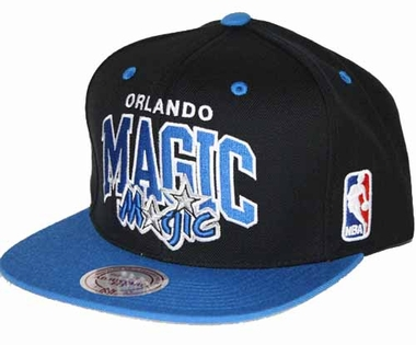 Orlando Magic Team Arch Snapback Hat