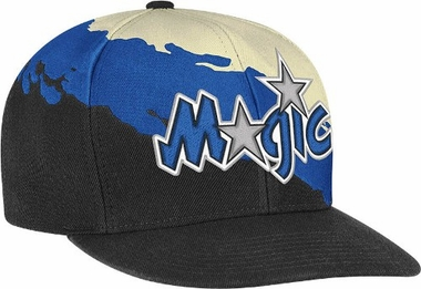 Orlando Magic Vintage Paintbrush Snap Back Hat