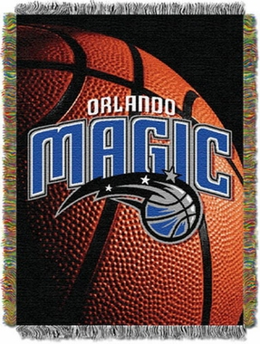 Orlando Magic Woven Tapestry Blanket
