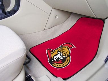 Ottawa Senators 2 Piece Car Mats