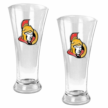 Ottawa Senators 2 Piece Pilsner Glass Set