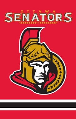 Ottawa Senators Applique Banner Flag