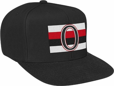 Ottawa Senators Basic Logo Snap Back Hat