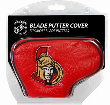 Ottawa Senators Blade Putter Cover